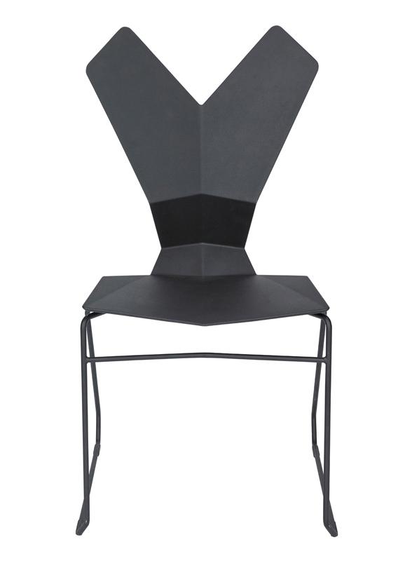 Y Chair in black