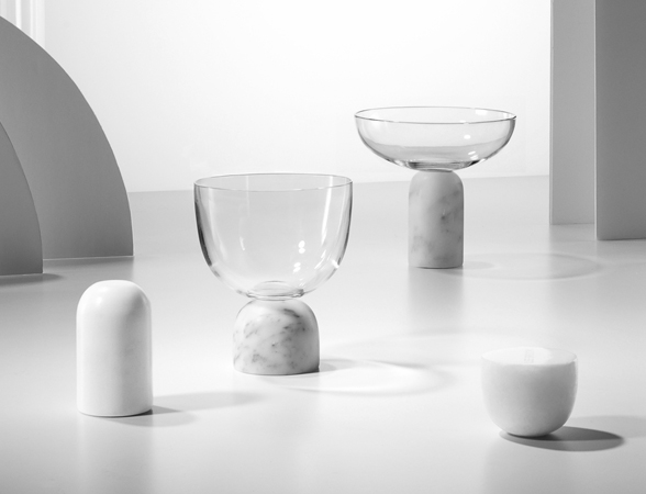 Lee Broom OnThe Rock Wine Glass Champagne Coupe