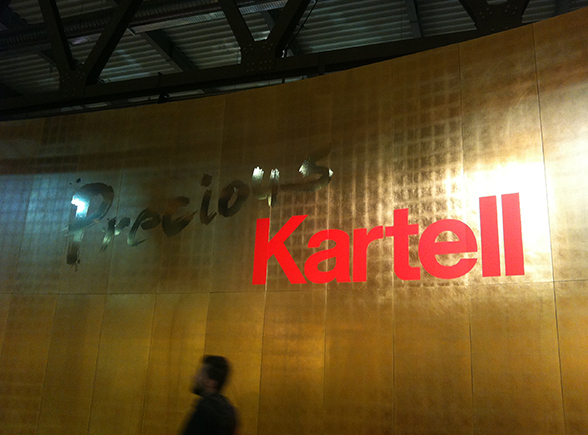 'Precious Kartell' stand