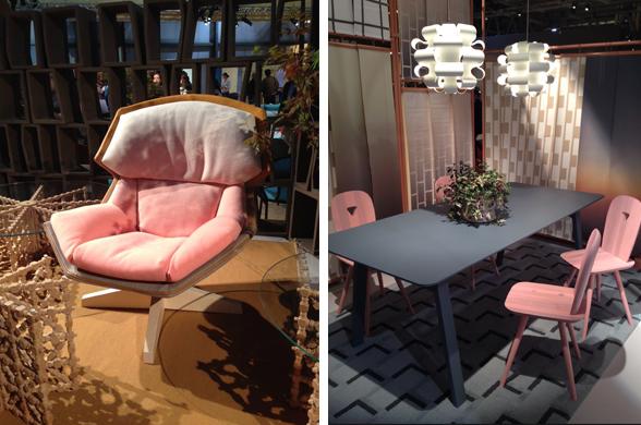 Clarissa chair & Luca Nichetto's La-Dina Chair for Casamania