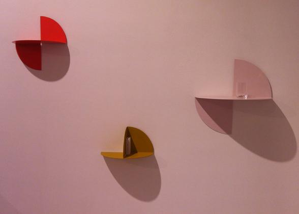 Bent Hook coat hook, Pivot shelf and Inga Sempé's colourful preview, Pinorama