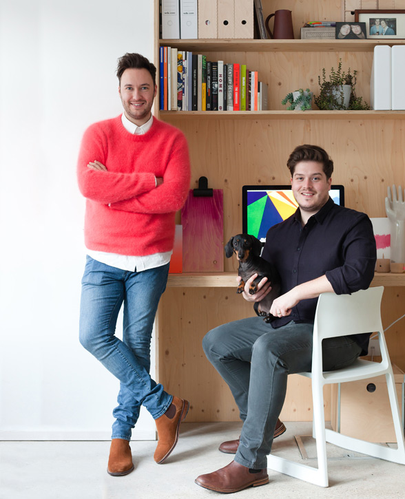 Last week we had the pleasure of interviewing Jordan and partner Russell  from this year's hottest interiors show, the Great Interior Design Challenge .