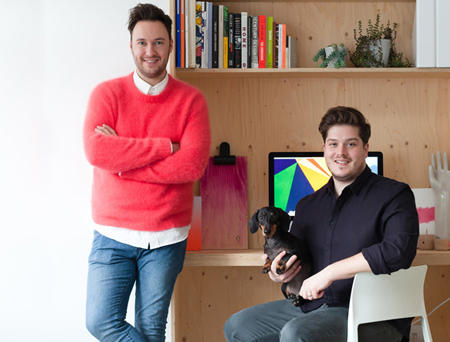 Meet BBC2's Great Interior Design Challenge contestants, Jordan and Russell