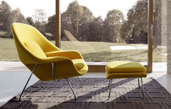 Knoll Womb Chair The History of a Classic Nestcouk