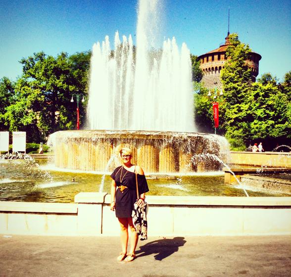 Ashlee in Monza