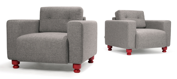 Modus Part Armchair – contemporary with a twist