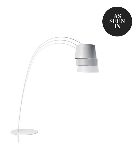 Foscarini Twiggy Floor Lamp in White
