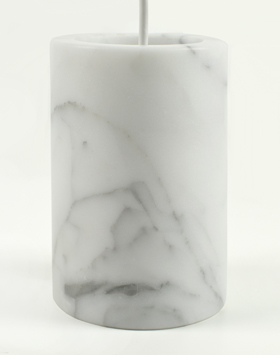 Terence Woodgate Solid White Marble