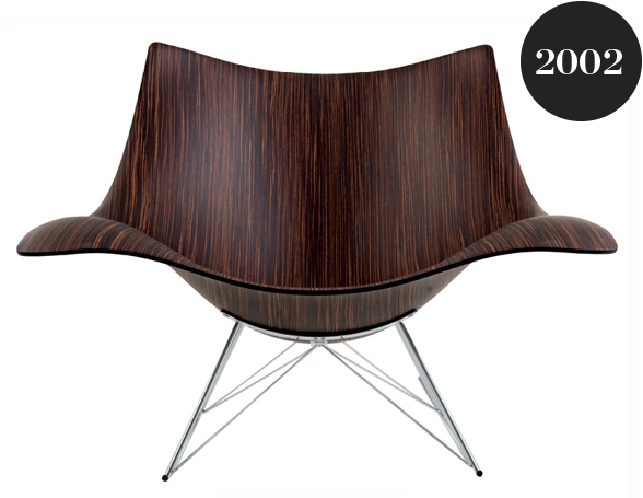 Fredericia Stingray Rocking Chair Wood