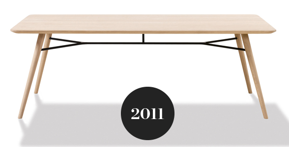 Fredericia Spine Rectangular Dining Table