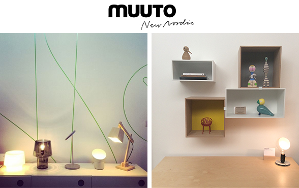 Muuto Cosy in grey Table Lamp Second from left