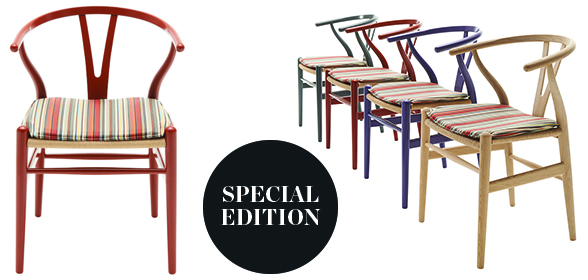 The Wishbone Chair: Paul Smith edition