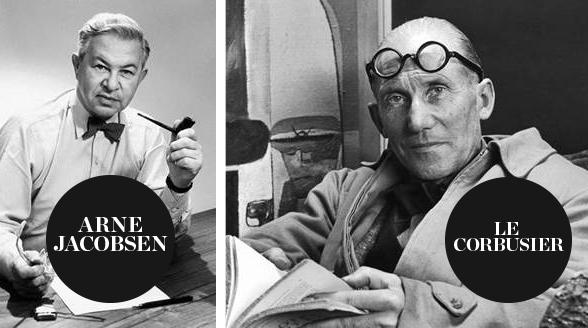 Arne Jacobsen Le Corbusier