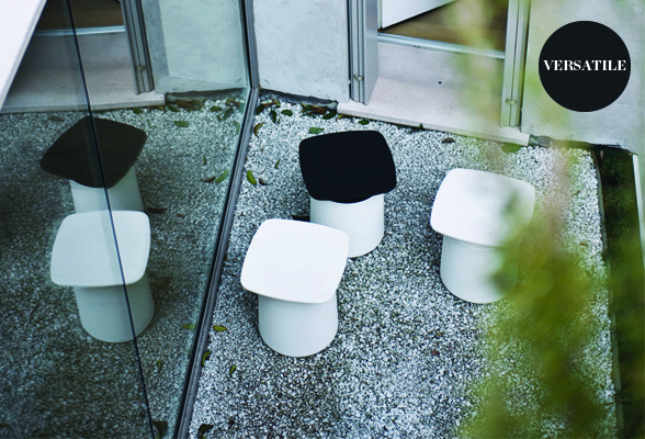 Kristalia Degree Side Table Stool