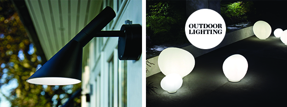 Louis Poulsen AJ 50 Outdoor Wall Light Foscarini Gregg Outdoor Lamps