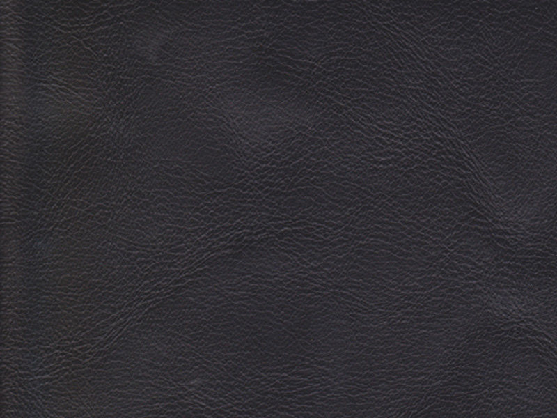 Black Refine Leather