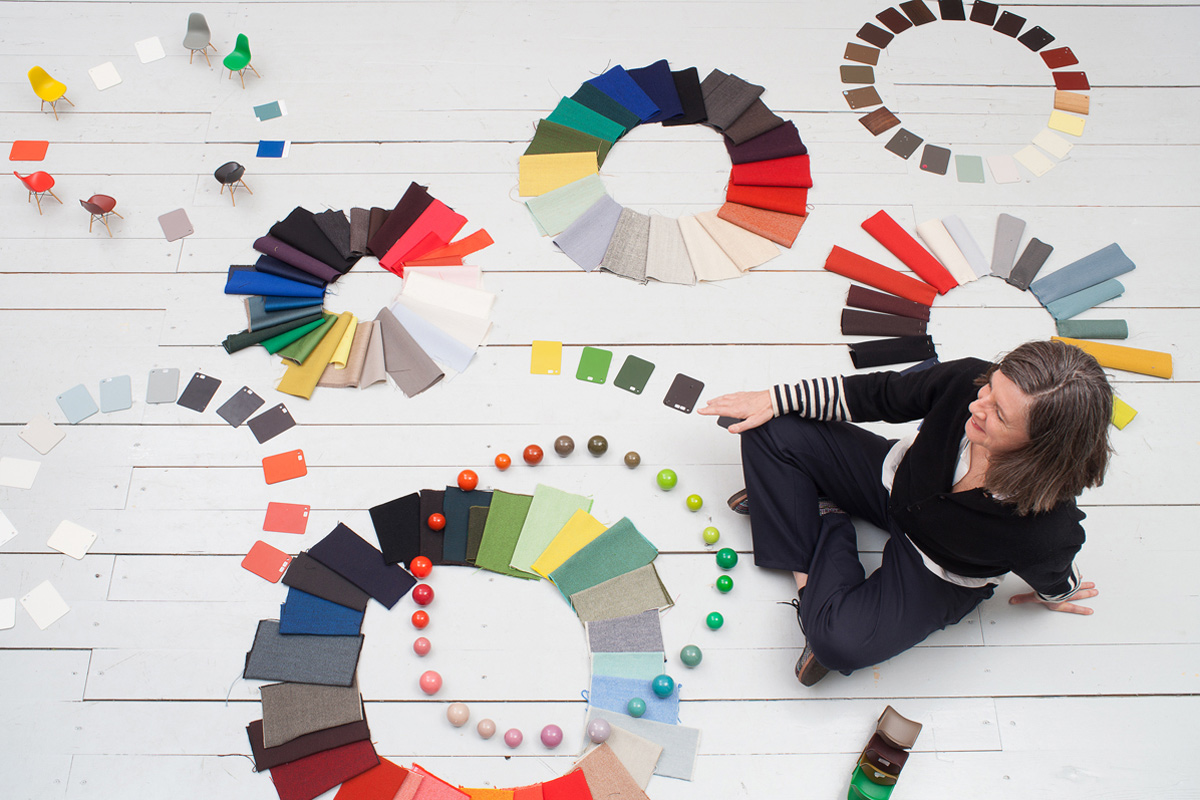Hella Jongerius creating the Vitra Colour Library