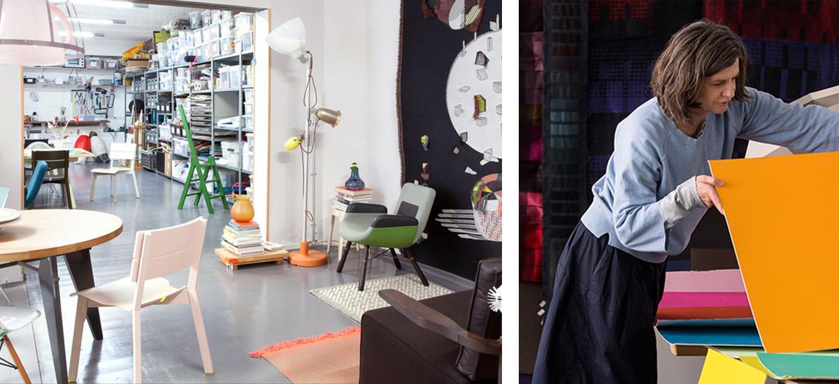 A peek inside Hella Jongerius' studio