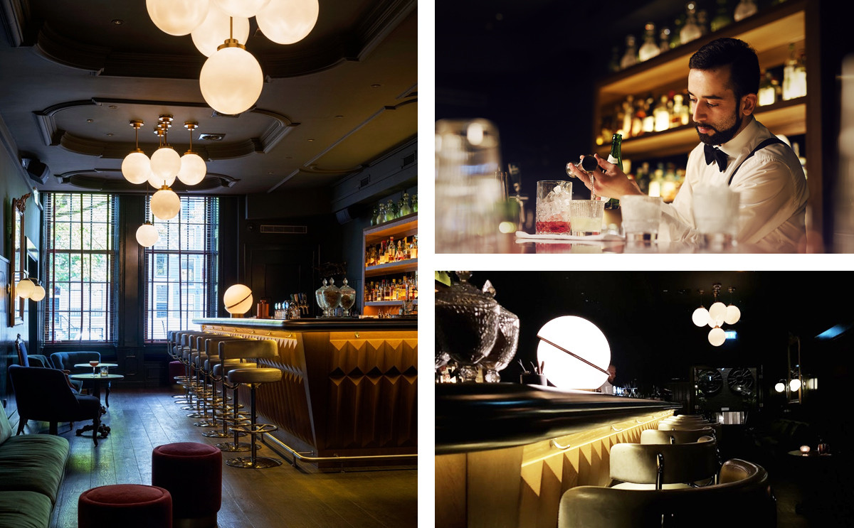 Multiple image grid of the interior of Pulitzer's Bar, Amsterdam.jpg