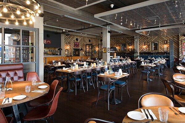 Interior of Bistrot Pierre Restaurant Coventry