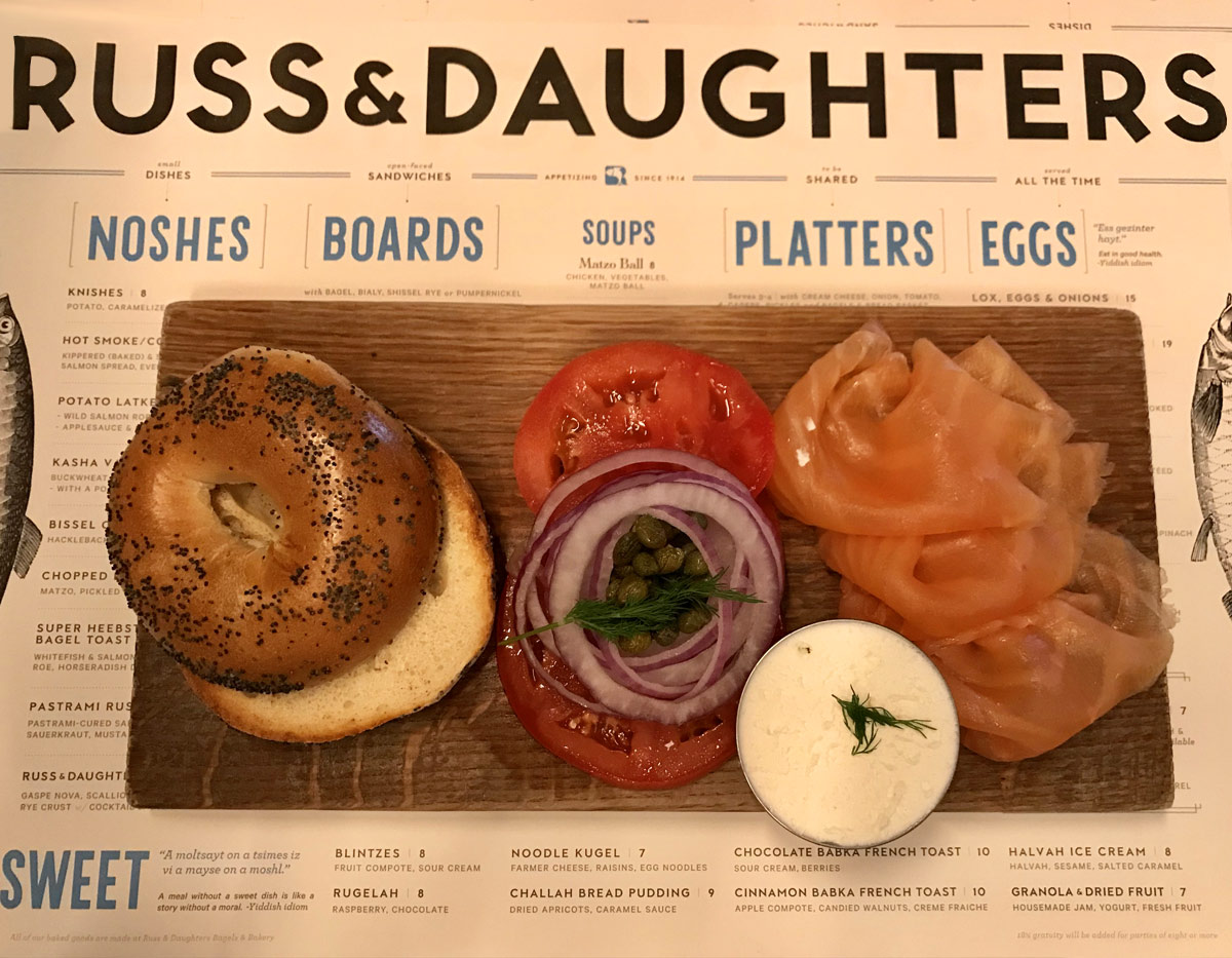 An English Woman In New York - Food at Russ & Daughters