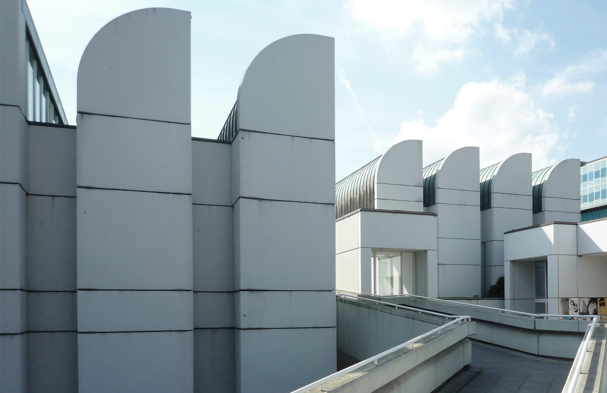 Exterior of the Bauhaus Museum