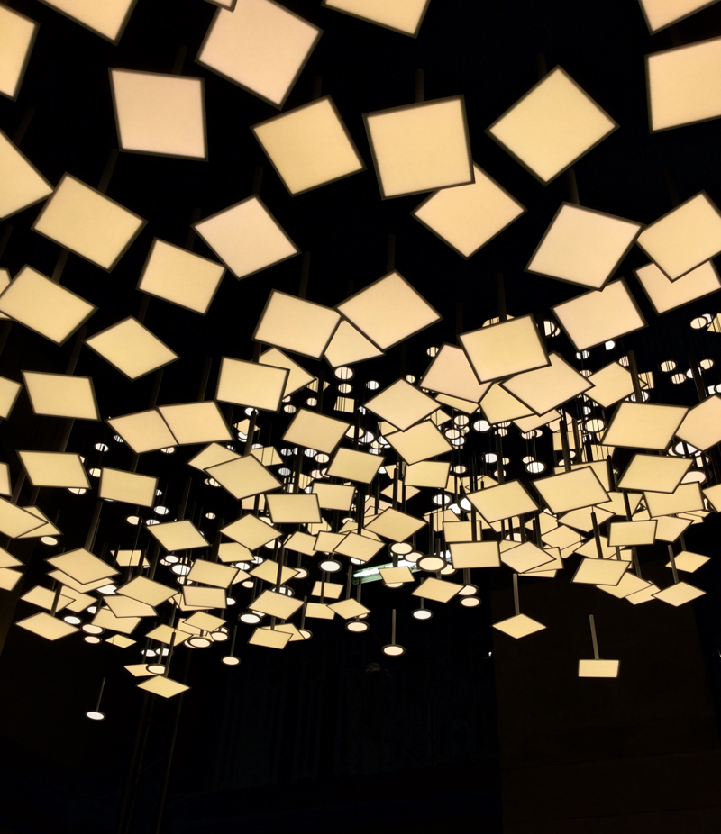 Lighting installation from Blackbody.