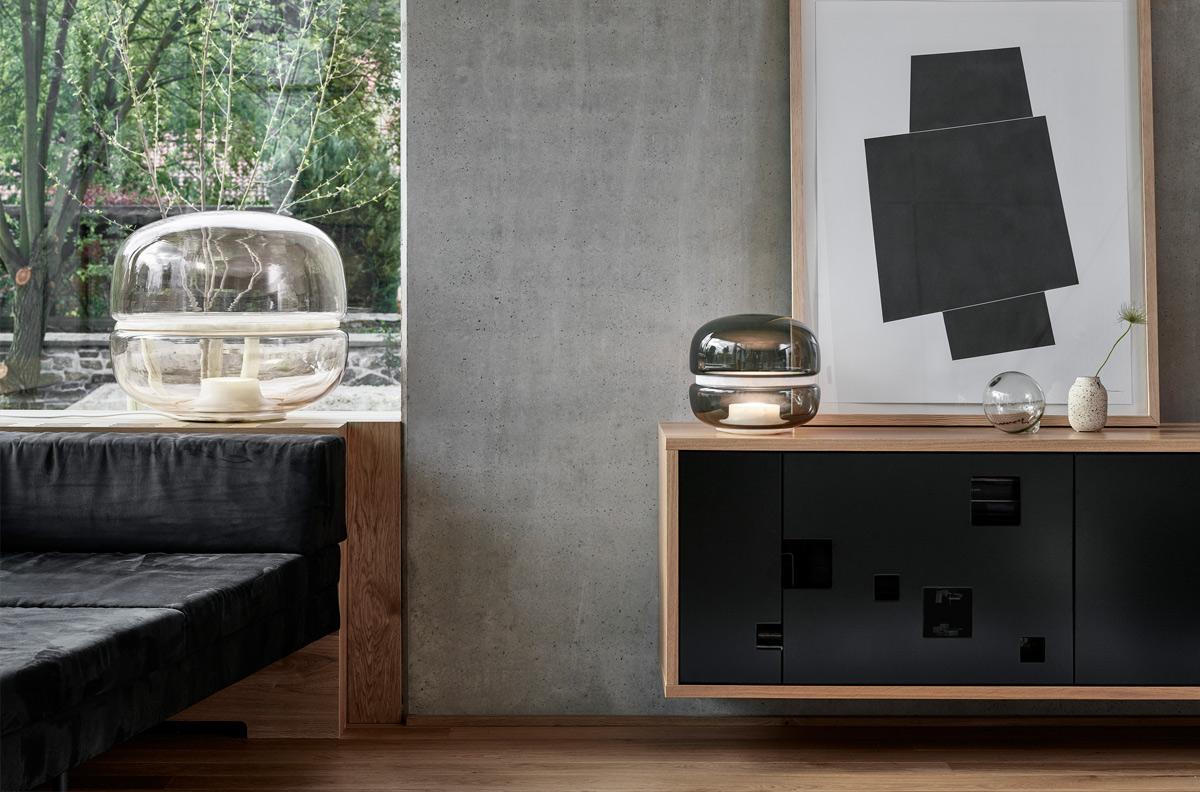 Brokis Macaron Table Lamp Small & Floor Lamp