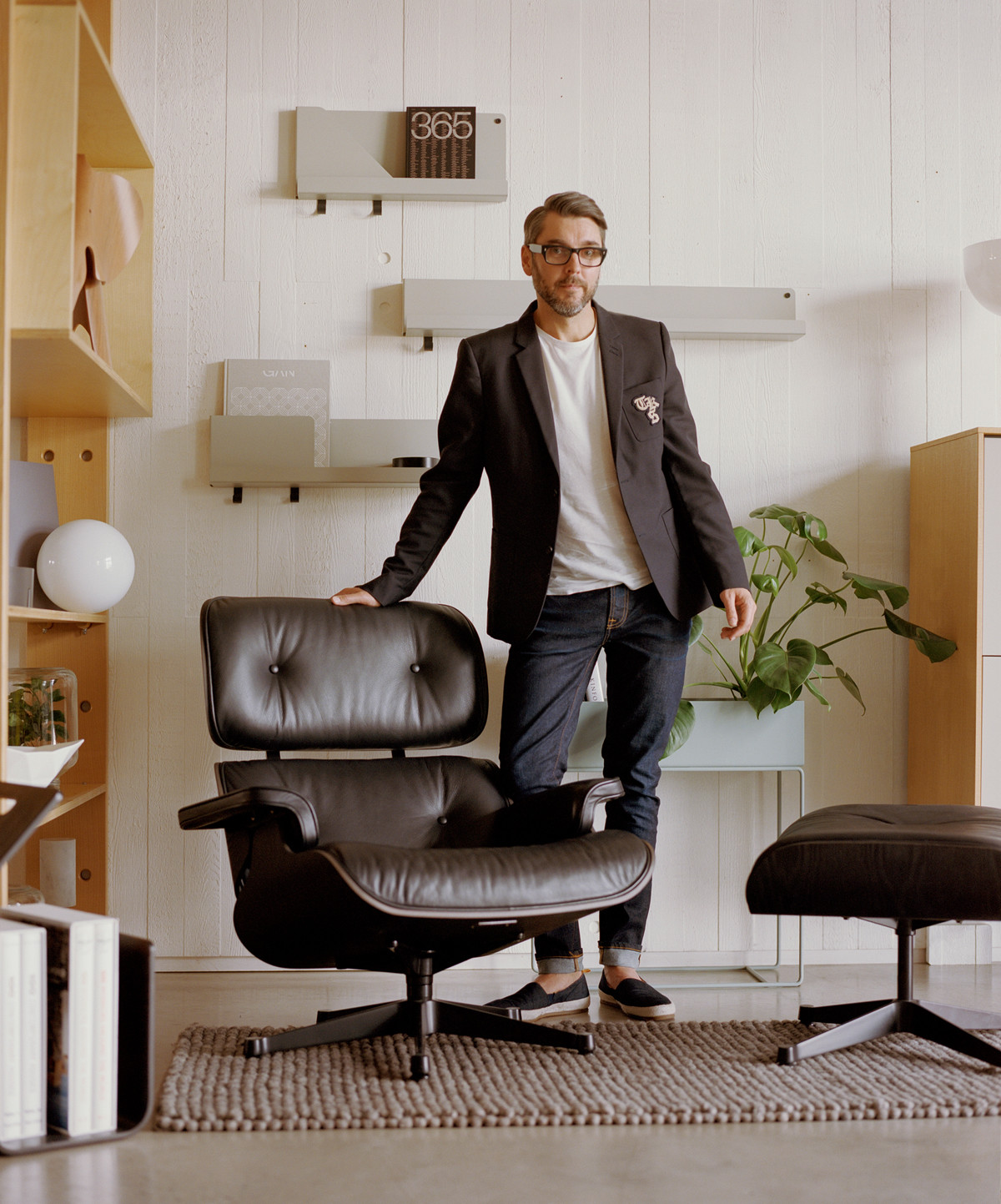 Christian Hawley in the Nest Showroom
