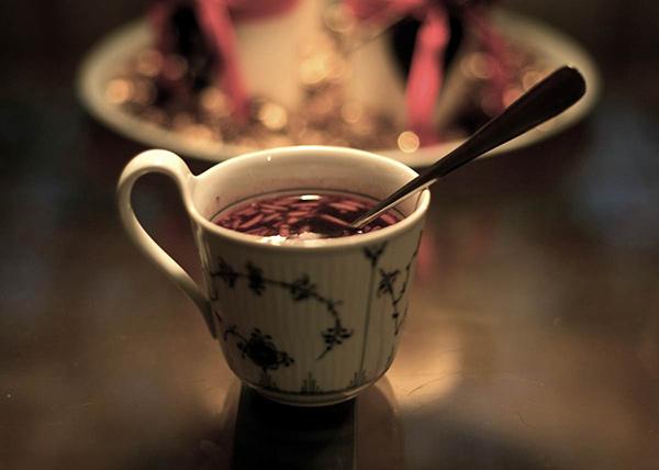 Mug of Danish Christmas drink