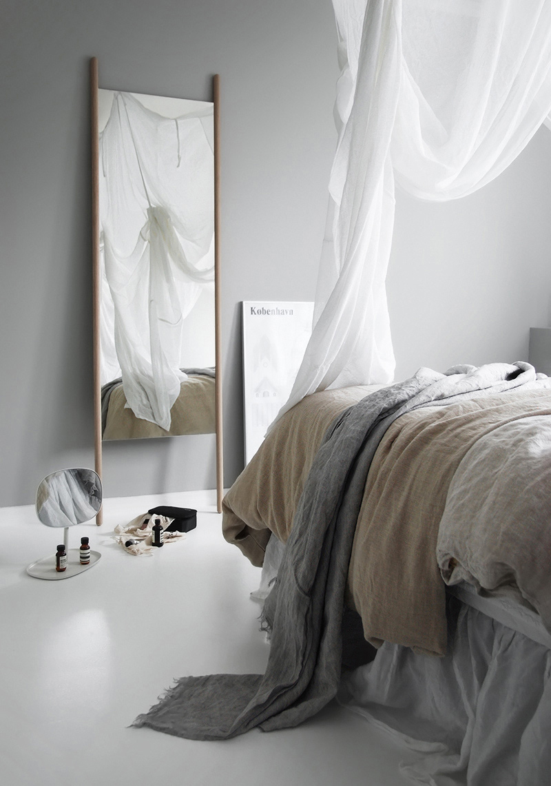 Only Deco Loves – Lagom and 'life in balance'  – Skagerak Georg Mirror Large Oak & Normann Copenhagen Flip Mirror.jpg