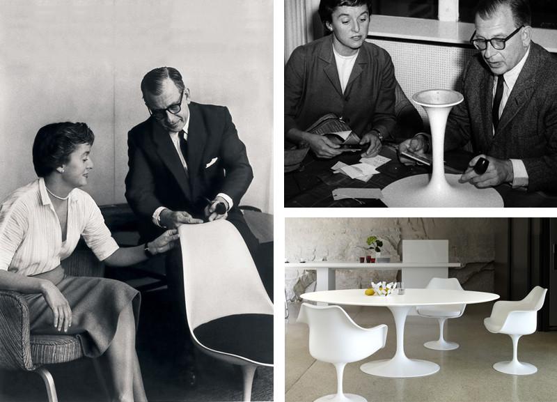 Design Icon – Knoll Saarinen Tulip Dining Table Florence Knoll & Saarinen.jpg