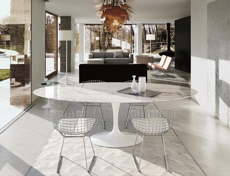 Design Icon: Knoll Saarinen Tulip Dining Table – Knoll Saarinen Tulip Large Dining Table – Oval.jpg