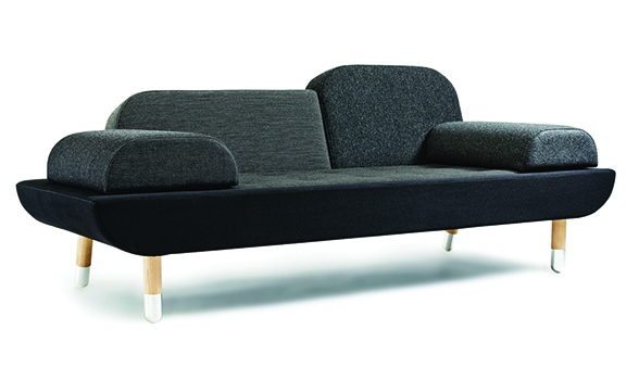 Erik Jorgensen EJ 123 Toward Sofa