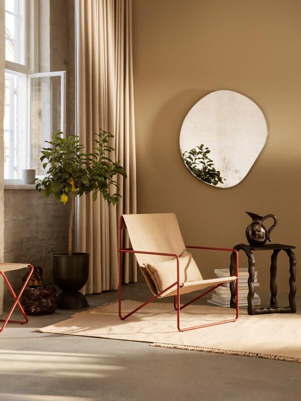 Ferm Living Desert Chair in a light filled room