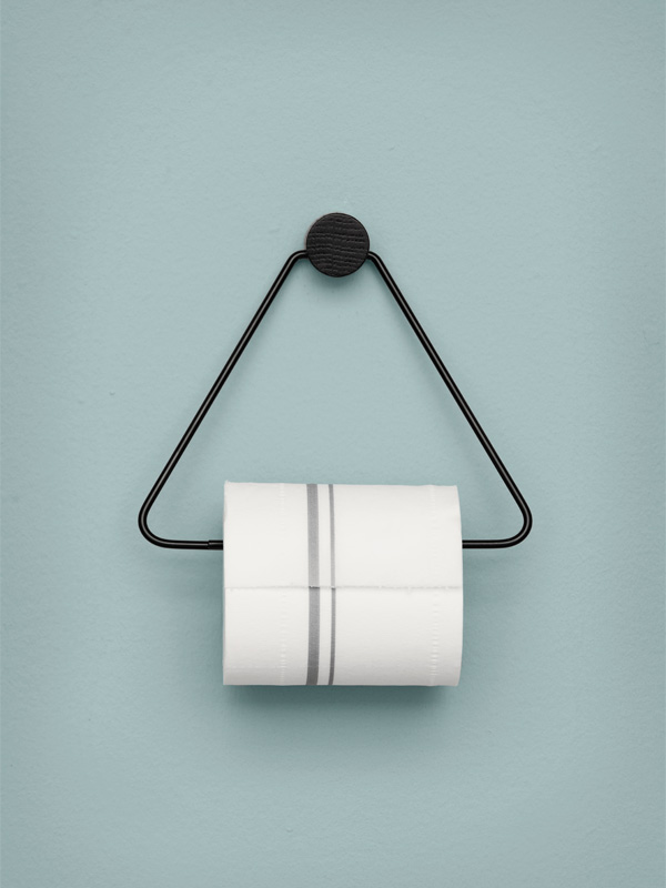 Ferm Living Toilet Roll Holder Black.jpg