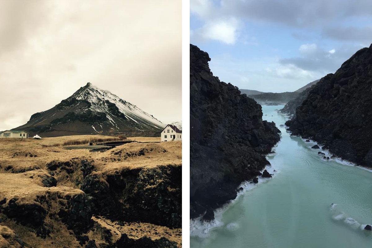 Snaefellsjokull Glacier, Arnarstapi & Bleu Lagoon in Iceland