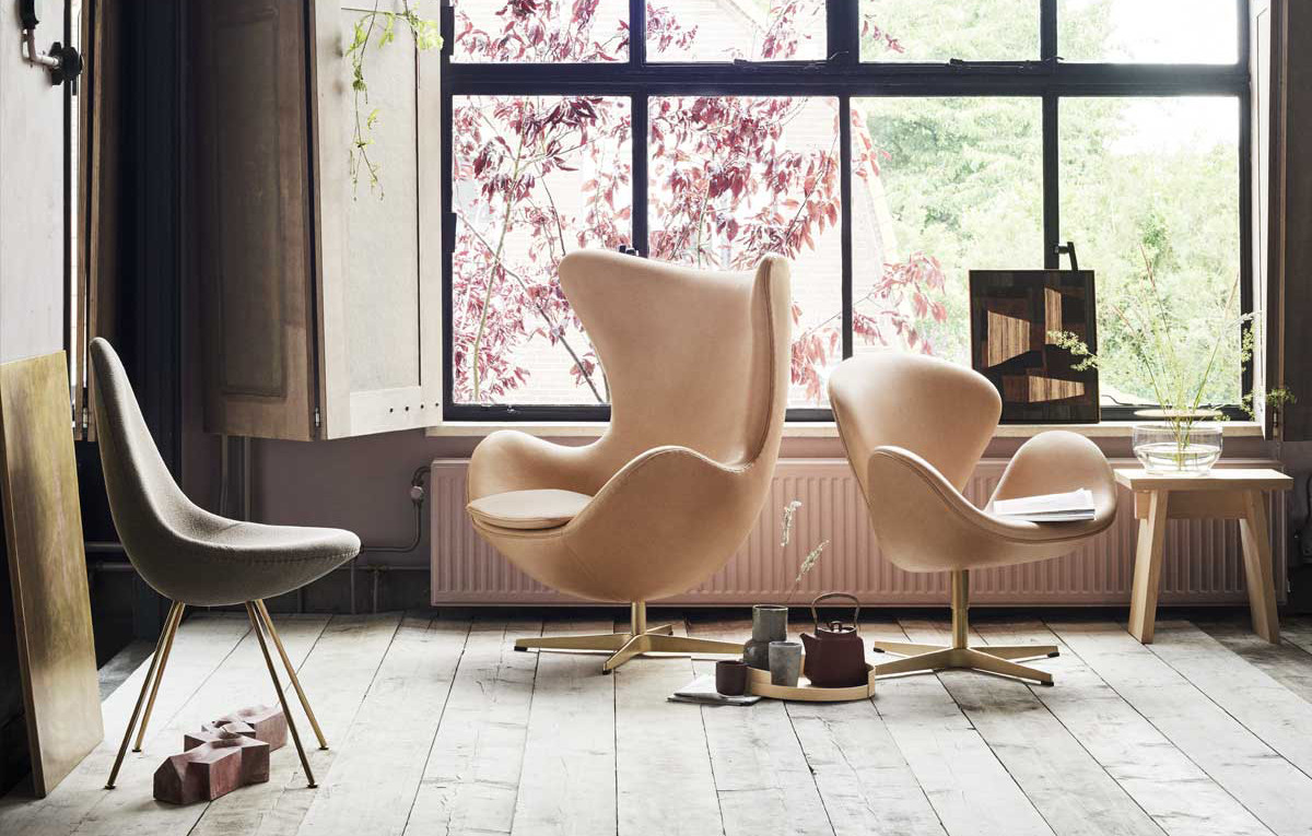 Arne Jacobsens Egg Chair A Classic Is Born Nestcouk