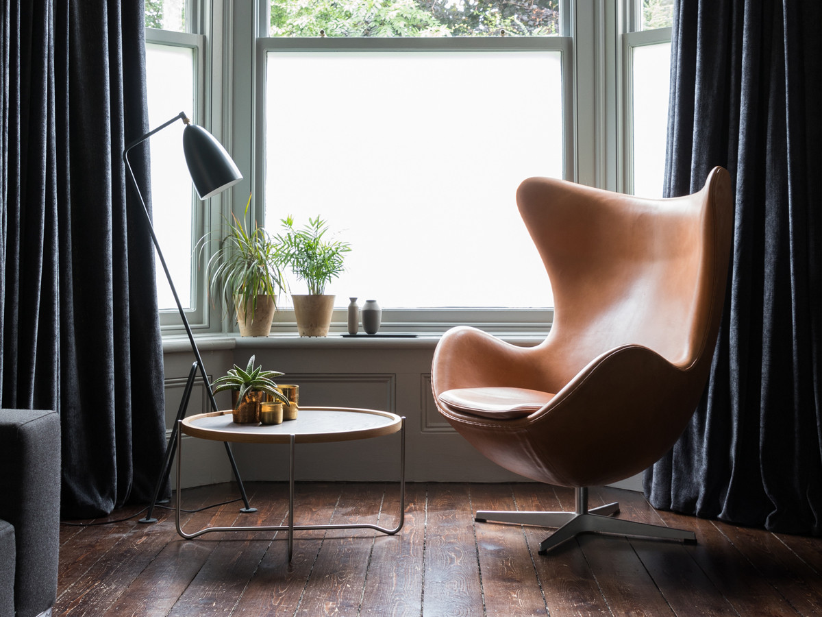 Fritz Hansen Egg Chair in Leather