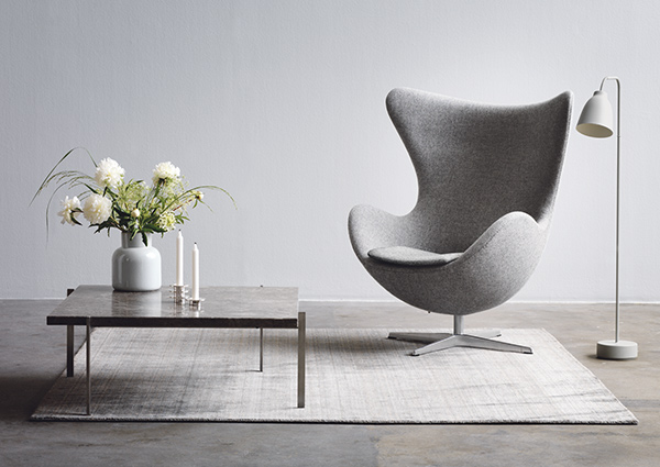 The History Of The Arne Jacobsen S Iconic Egg Chair Nest Co Uk