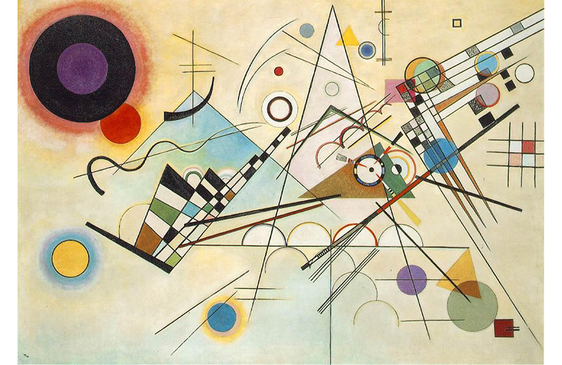 Shining a light on geometric design – Composition VIII by Wassily Kandinsky.jpg
