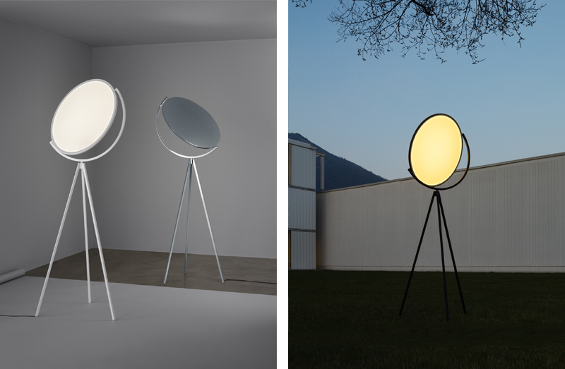 Shining a light on geometric design – Flos Superloon Floor Lamp Finishes.jpg