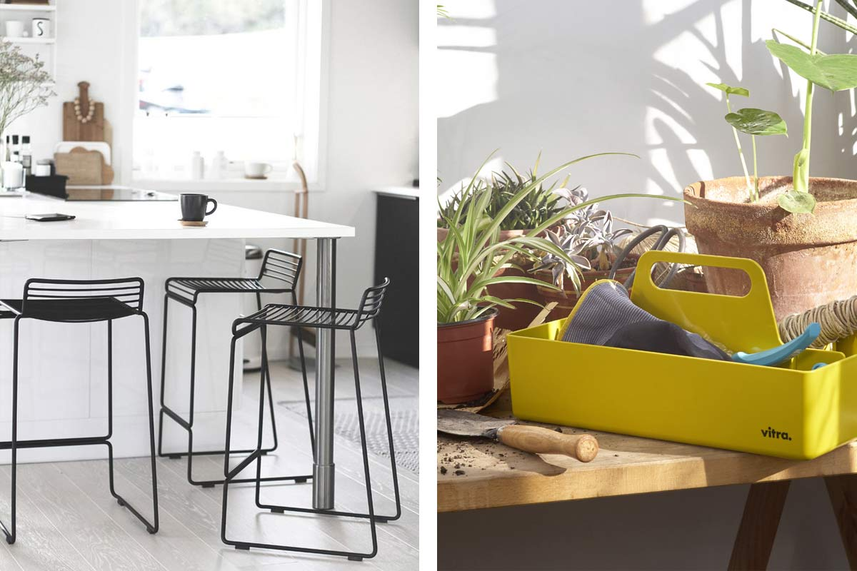 Hay-Hee-Bar-Stools-in-Black-paired-with-the-Vitra-Toolbox-in-Mustard.jpg