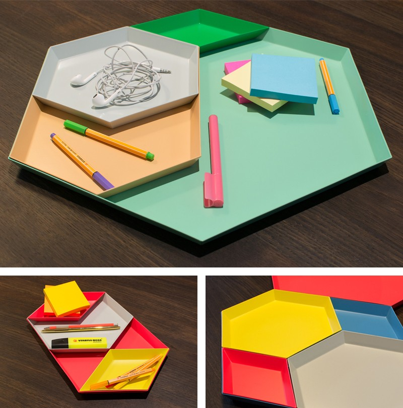 Hay Kaleido Trays – Mix, match and play