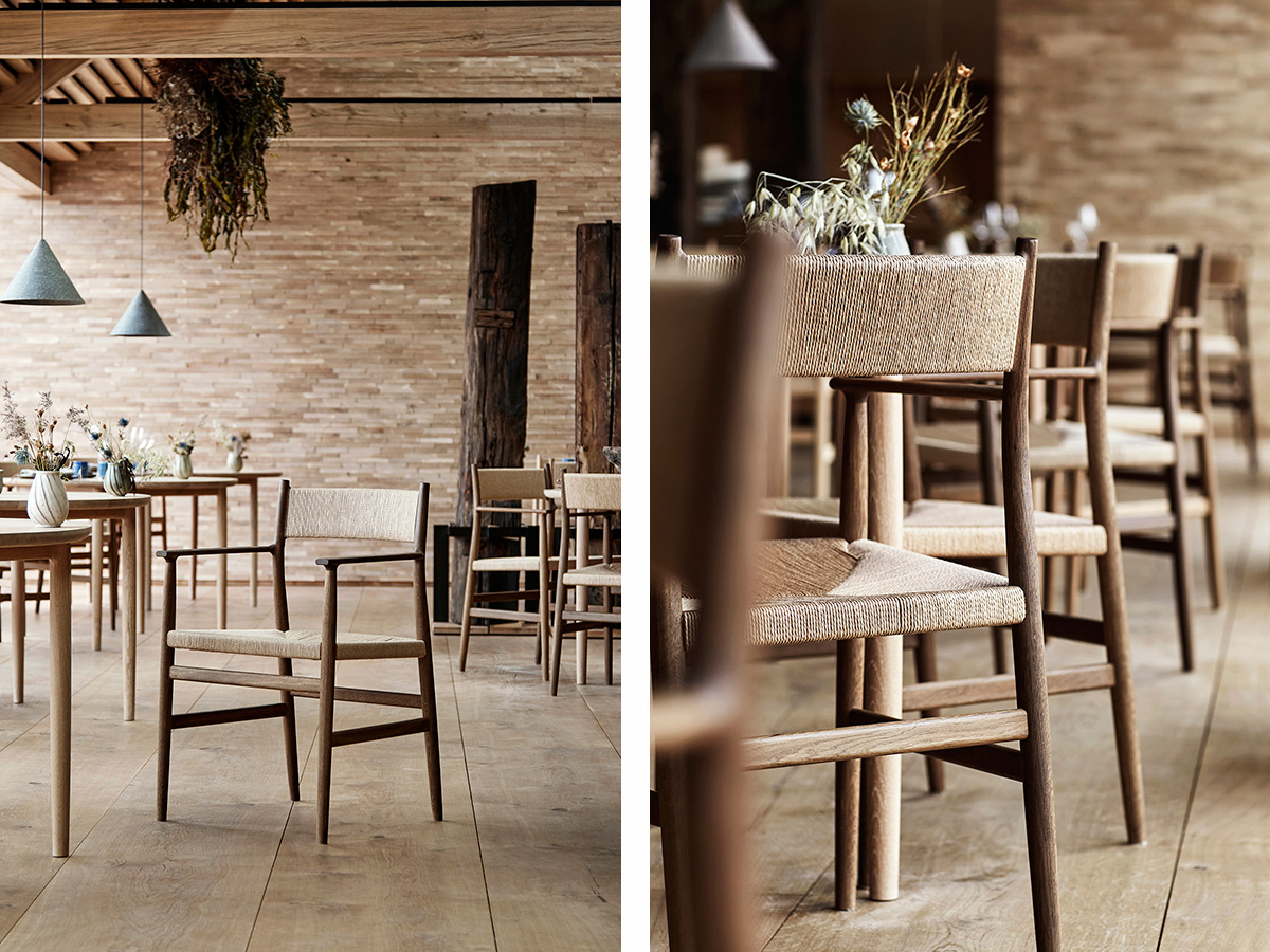 The BRDR Kruger ARV Dining Chair in noma