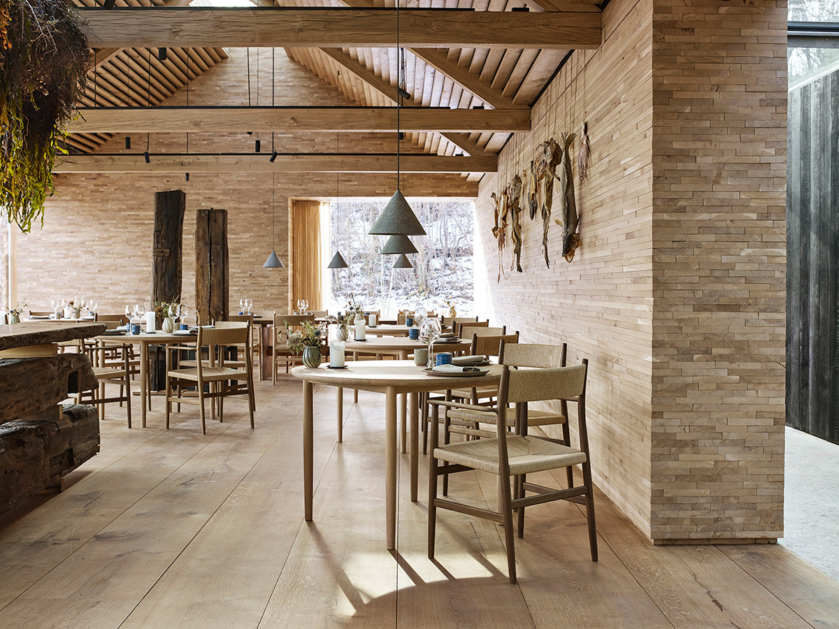 BRDR Kruger ARV furniture collection in the new noma 2.0 restaurant