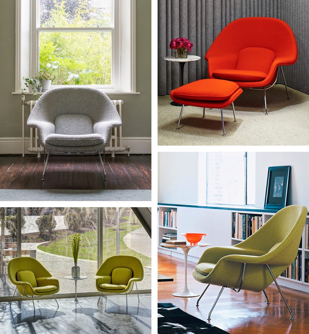 Knoll Womb Chairs in the home