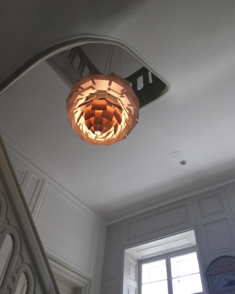 Louis Poulsen PH Artichoke Suspension in Copper.jpg