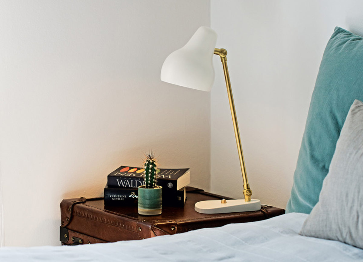 The Louis Poulsen VL38 Table Lamp is perfect for your bedside table