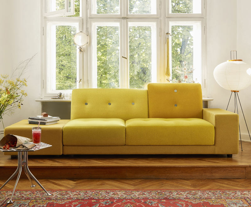 The Hidden Power of Colour – Vitra Polder Sofa Golden Yellow.jpg